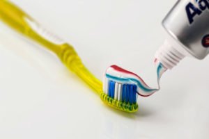 toothbrush toothpaste dental care